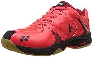 Yonex SHBSC2LDEX Badminton Power Cushion Shoes, UK 11 (Bright Red)