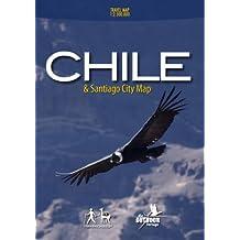 Chile & Santiago City Map
