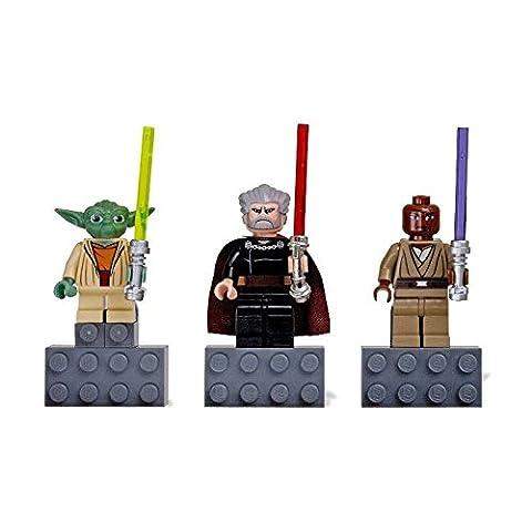 Lego Star Wars Mini Figure Magnet Set - Yoda, Count