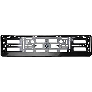 automax 102-000.02 Kennzeichenhalter L 520mm, Schwarz, 2 Stück