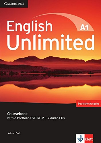 English Unlimited A1: Starter. Coursebook with e-Portfolio DVD-ROM + 2 Audio-CDs