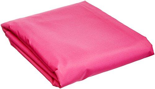 Ideanature toile d'ombrage triangulaire 5x5x5m polyester déparlent anti UV 180 gr/m2 rose, , Rose, 36 x 25 x 5 cm,