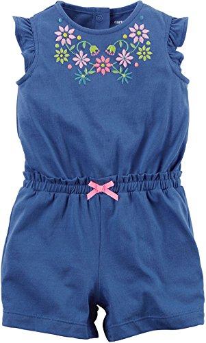 carters-jumpsuit-baby-sommer-overall-einteiler-body-madchen-girl-onesie-18-monate-blau