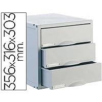 Archivo 2000 8403C - Fichero cajones de sobremesa, color gris