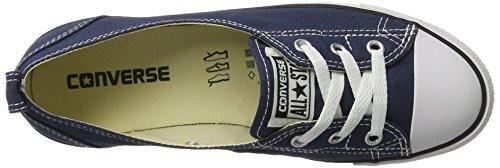 Converse Unisex-Erwachsene All Star Ballet Lace Sneaker, Blau (Navy), 39 EU - 7