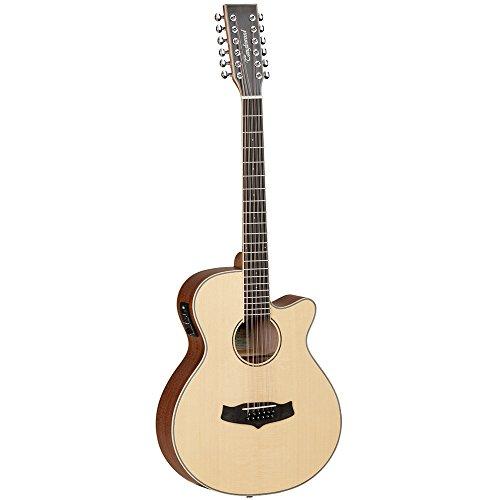Tanglewood TW12CE - Guitarra electroacústica (12 cuerdas)