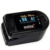 Pulsoximeter PULOX PO-200 mit OLED-Anzeige  Farbe: