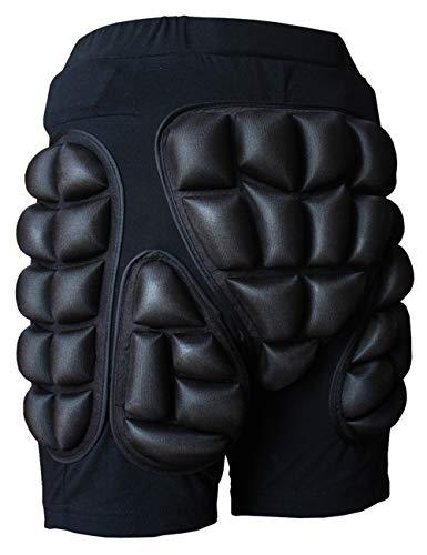 Dearlamp Skating Snowboard Skiing Padded Shorts, Outdoor Sports Protective Hip Butt Shorts XXXL