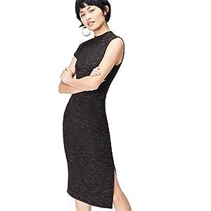FIND Damen Langes Stretch-Kleid mit Space Dye