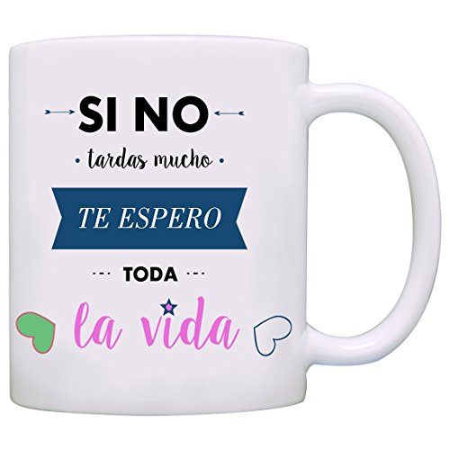 taza con mensaje de mr wonderful