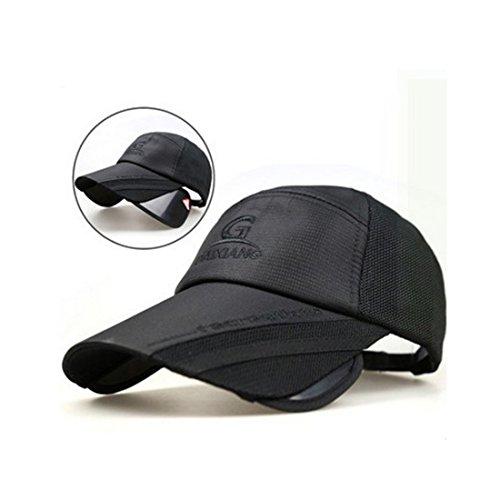 Herren & Damen Sport Baseballcap Golf Mesh Kappe Atmungsaktiv Snapback Fitness Schirmmütze Basecap