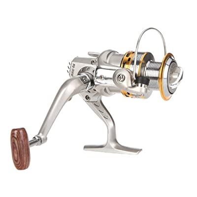 Andoer 6BB Ball Bearings Left/Right Collapsible Handle Fishing Spinning Reel SG3000A 5.1:1 from Andoer