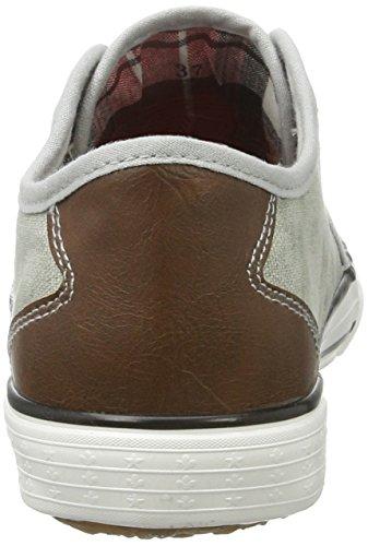 Rieker Damen M2270 Sneakers Grau (shark/brown / 40)