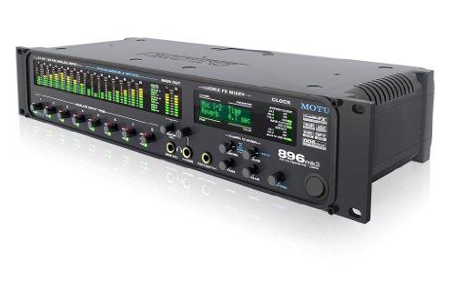 Motu 896-mk3Hybrid Schnittstelle Audio, 8Eingänge Mikrofon/Gitarre mit Auswirkungen und Mixer ON