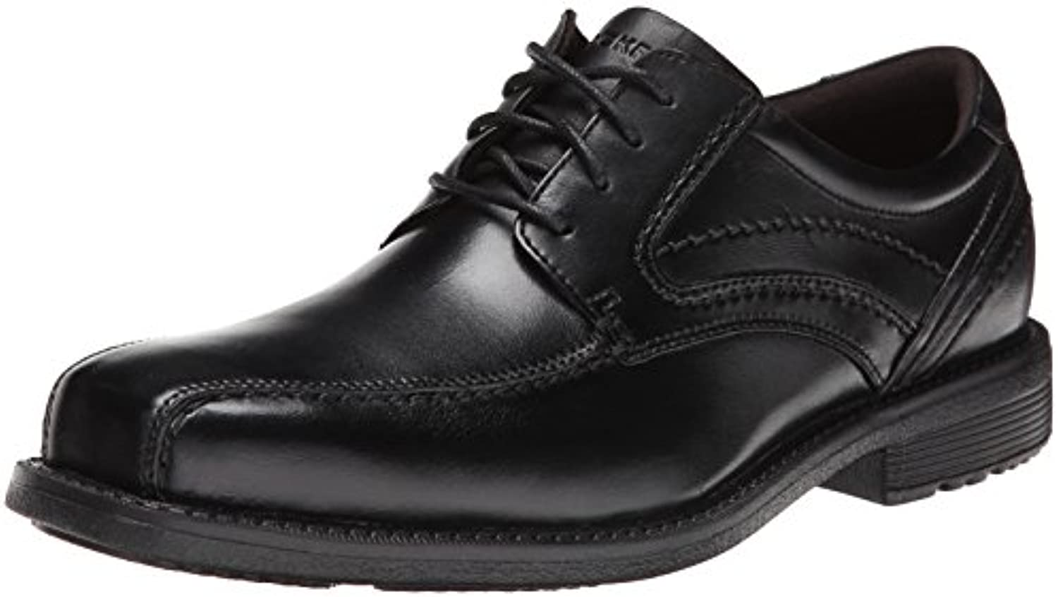 Men's Style Leader 2 2 2 Bike Toe Oxford nero Waxed Vitello 11 M (D) | Folle Prezzo