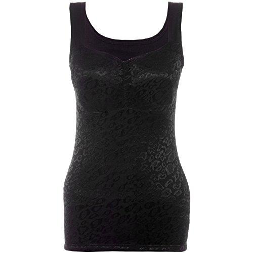 damen-tanktop-push-up-top-shirt-mit-spitze-auen-samtstoff-innen-oberteil-20645-greone-sizefarbeschwa