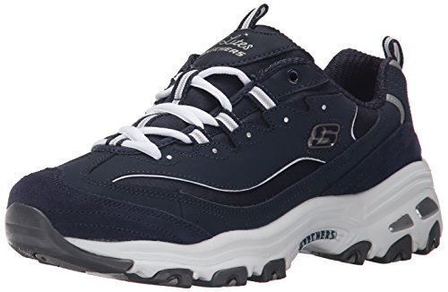 Skechers (SKEES) D'lites - Me Time, baskets sportives femme noir (BKW)