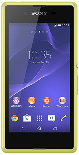 Sony Mobile Xperia E3 Smartphone débloqué 4G (2 Go - Ecran : 4,5 pouces - Simple SIM - Android 4.4 KitKat) Jaune
