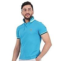 Giordano Polo T-Shirt for Men, Size XL, Blue