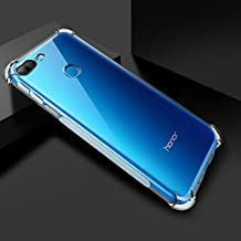 Bracevor Honor 9 Lite Back Case Cover | Flexible Shockproof TPU | Cushioned Edges | Premium Design - Transparent