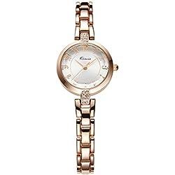 strap watches/Retro art girls watch-Golden