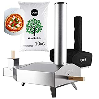 Uuni 3 Outdoor Oven with Cover and 10Kg Pellets Bundle
