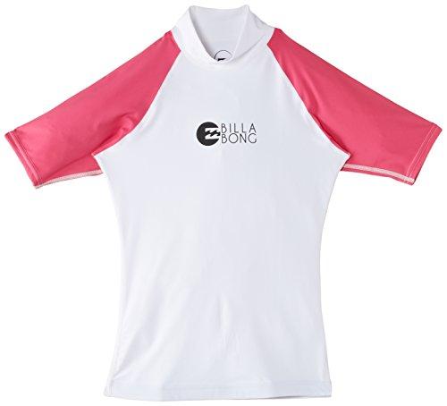 Billabong Damen Rash Guards Logo in Short Sleeve, Magenta, S, 1S4GY01BIP5 741 3 BI