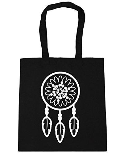 hippowarehouse-sac-de-plage-femme-noir-taille-unique