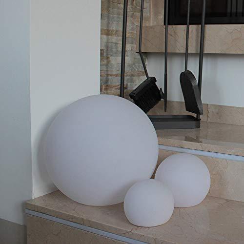 FURSTAR LED Lounge Leuchtmöbel - LED SOLAR Ball 40 LED Deko Lampe mit Solartechnik - 40cm