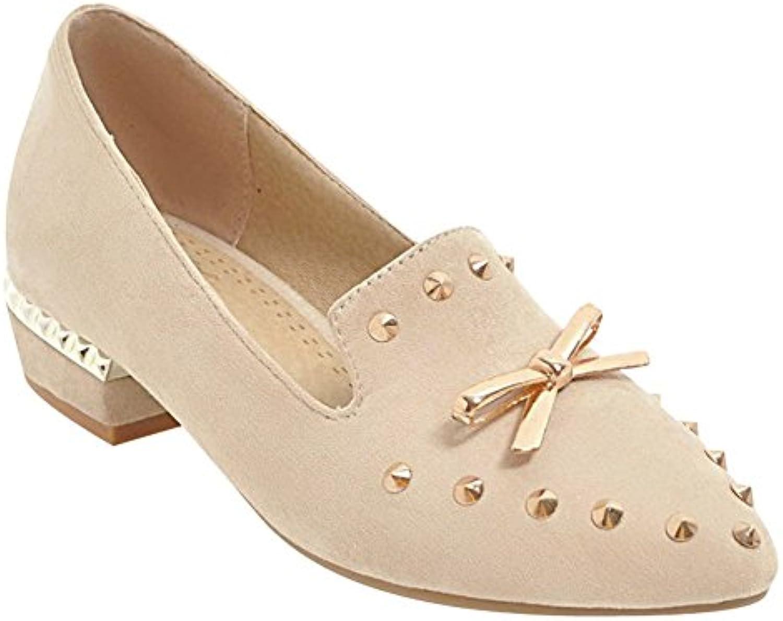 537b7a3b7a7 Carolbar Women s Stylish Shoes Fashion Rivets Women s Mid Heel Pointed Toe  Fashion Bow Court Shoes B07B4WWG4H Parent 0545f9a -  www.wildaggressivedog.com