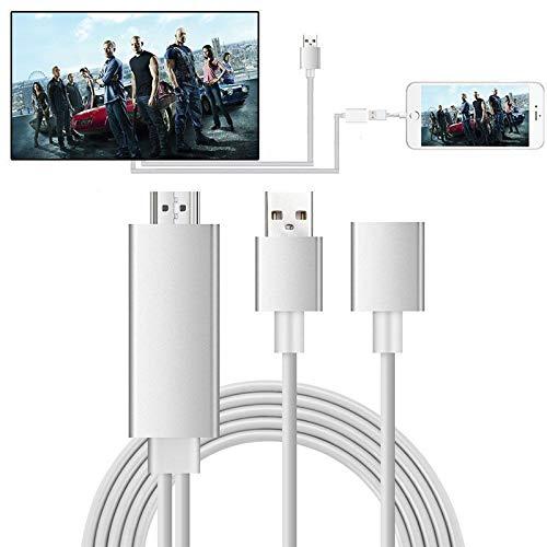 MHL HDMI Kable Adapter,Ozvavzk Blitz USB zu HDMI HDTV 1080p Mirroring Digital AV Cable Für Smartphones zu TV Projektor Überwachen - Hdmi-hdtv