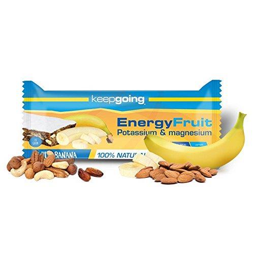 Barrita Energética Energy Fruit Keepgoing 12 x 40g Plátano