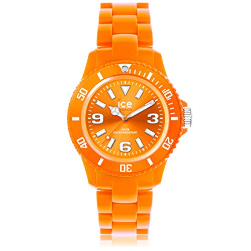 Ice-Watch - ICE solid Orange - Montre orange mixte avec bracelet en plastique - 000627 (Medium)