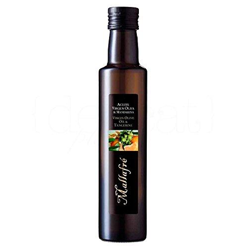 Natives Olivenöl mit Mandarine 250ml. Mallafré. 12 Stk.