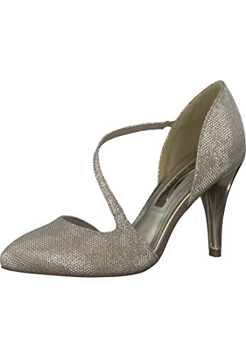 Tamaris 1-24423-35 Schuhe Damen Pumps Gold (Glod Glam 954)