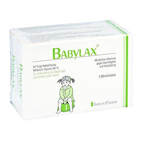 Babylax Klistier 6 stk