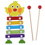 Sharplace Süße Kartoon Xylophon Schlagzeug Musik Spielzeug für Kinder ( Zufällige Farben )