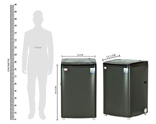 Godrej 6.2 kg Fully-Automatic Top Loading Washing Machine (WT 620 CFS, Graphite Gray)