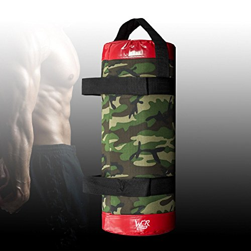 Camouflage-Power-Bag-Strength-Body-Training-Fitness-Exercise-Gym-Crossfit-MMA-10-Kilograms