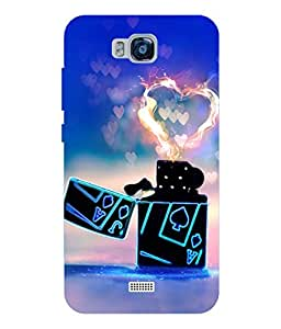 Cool & Creative Silicon Printed Back Cover For Huwai Honor Bee