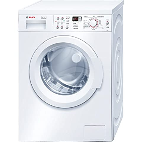 Bosch Serie 6 VarioPerfect Independiente Carga frontal 8kg 1200RPM A+++ Color blanco - Lavadora (Independiente, Carga frontal, A+++, A, B, Color