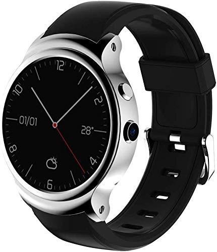 Meyeye Smart Watch New I3 Smart Clock for iOS/Android-Unterstützung 3G Wi-Fi GPS Integrierter Speicher/Speicher 4GB / 512MB App herunterladen Herzfrequenz Monitorin Smart Armband (Farbe: Silber)