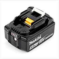 BATTERY, 18V, 5AH LI-ION, BL1850 --- Battery Capacity:5Ah --- Battery IEC Code:- --- Battery NEDA Code:- --- Battery Size Code:- --- Battery Technology:Lithium Ion --- Battery Terminals:- --- Battery Voltage:18V --- Weight:625g