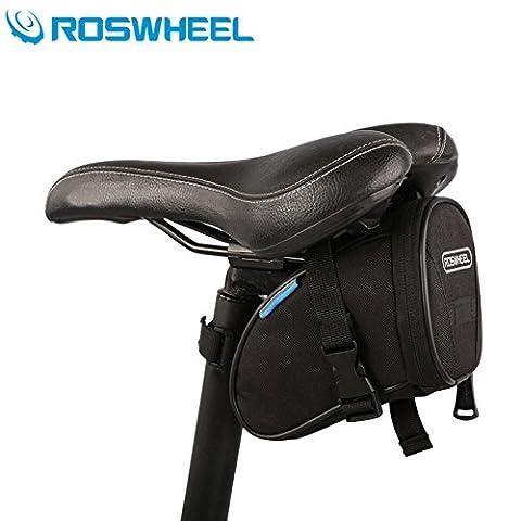 ROSWHEEL extérieure vélo Sac de selle siège queue Pochette avec fermeture Velcro