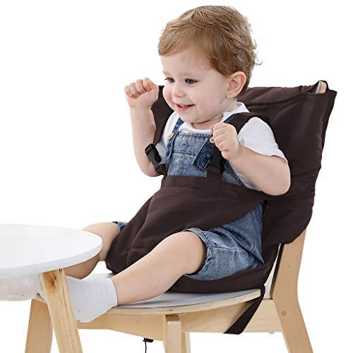 Vine Chaise Haute de Voyage Portable Easy Seat   Rehausseur Chaise Enfant,Housse de Siège pour...