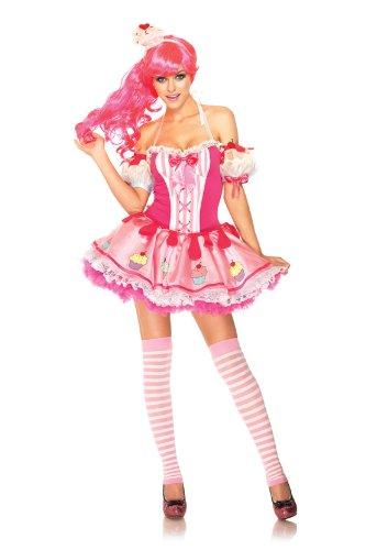 Leg Avenue 83993 - Babycake Kostüm Set, Größe: XS, (Cupcake Kostüme Baby)