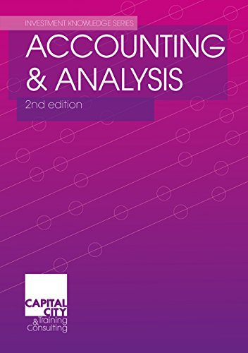 Accounting & Analysis (Investment Knowledge Series) (English Edition)