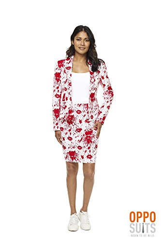Bloody Mary Halloween Damenanzug Anzug Opposuit Premium - Opposuits Halloween