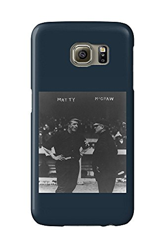 Christy Mattewson and John McGraw, NY Giants, Baseball Photo (Galaxy S6 Cell Phone Case, Slim Barely There) -