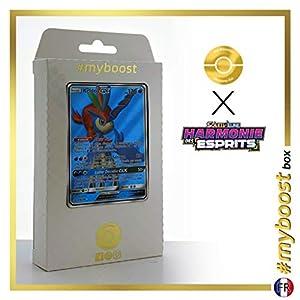 Keldeo-GX 219/236 Full Art - #myboost X Soleil & Lune 11 Harmonie des Esprits - Box de 10 cartas Pokémon Francés